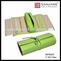 personalizar folding roll jóia de couro com alça