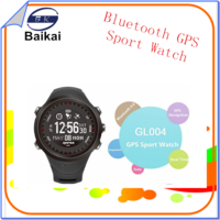 LCD display mode switch GPS sport birthday's gift watch with DST Hour chime Calendar , Auto time zone ,special birthday's gift.