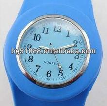 Wholesale Promotional Silicone Jelly Bracelet Watch Ladies Silicone Jelly Watch Silicone Slap Watch