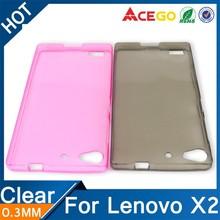 (Acego) 0.3mm Guangzhou transparent case cover for lenovo vibe x2 , tpu for lenovo vibe x2 case cover