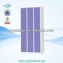 100% TOP quality 3 door steel wardrobe cabinet