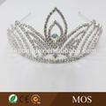 2015 venda quente alta qualidade rainha da beleza coroas com strass cristal