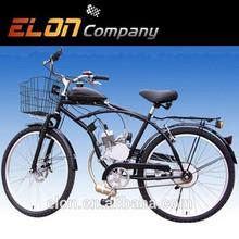 2-stroke gas bike with rear rack popular on sale(E-GS103,BLACK)