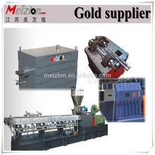 Meizlon MTG75 black/coloring / white master batch twin/double screw extruder plastic making machine