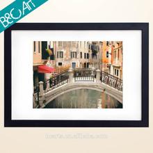 New design framed modern painting image of bridge