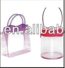 New fashion good quality pvc packaging bag pvc gift bag