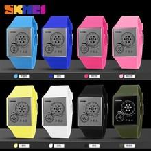 Time,Date,Luminous Display LED Lights PU Band Lady wrist watch sets