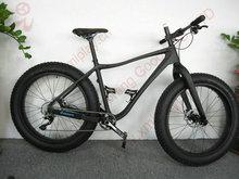2015 new design carbon fat tire bike beach cruiser, 26'' carbon snow bike, IP-010 full carbon fat bike
