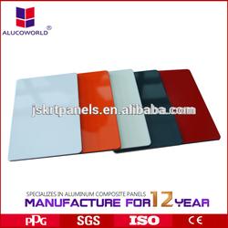 Alucoworld Panel Aluminum color exterior paint
