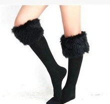 Adults Age Group and Eco-Friendly Feature wholesale buttoned lace leg warmer boot socks