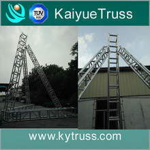 aluminum speaker truss tower, audio truss tower,array line speakers truss for sale
