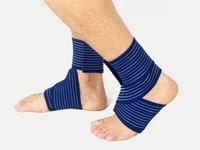 2015 Alibaba Cotton/nylon /Elastic Ankle &knee&elbow&wrist Bandage Brace Support (Four-Way Stretch, 67% Cotton)