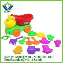 summer toy sand beach car mini sand castle molds toy