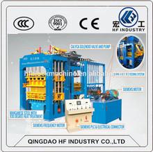 QT12-15 automatic concrete block mould machine