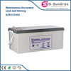 solar panel systerm maintenance free vehicle battery