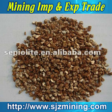 expanded golden vermiculite wholesale supplier in China