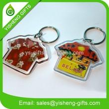 Customize promotion photo keychain/custom keychain maker/Acrylic keychain