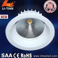 New arrival Manufacturer supplier 30w led recessed light for supermarket