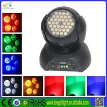 36 3 watt rgb dmx rotating stage light cheap stage lighting