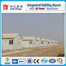 6000 Person Prefabricated Buildings EPS Sandwich Wall Roof Labor Camp Side by Side Camp