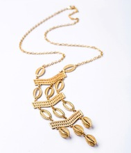 2015 latest model women fashion long pendant gold necklace sweater chain