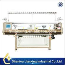 Machine textile compute flat knitting