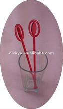 Wholesale High Quality Colorful Custom Plastic Swizzle Sticks
