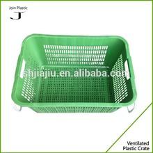 PE handle attached plastic laundry basket