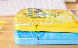 food grade pens, eco- friendly tin cans supply pencil tin box