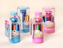 12 color / 24 color water color pen with spray
