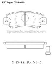 Car Spare Parts For SEAT MALAGA Brake Pad GDB297 5892309 814601
