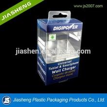 Custom printing design plastic folding box with hanger