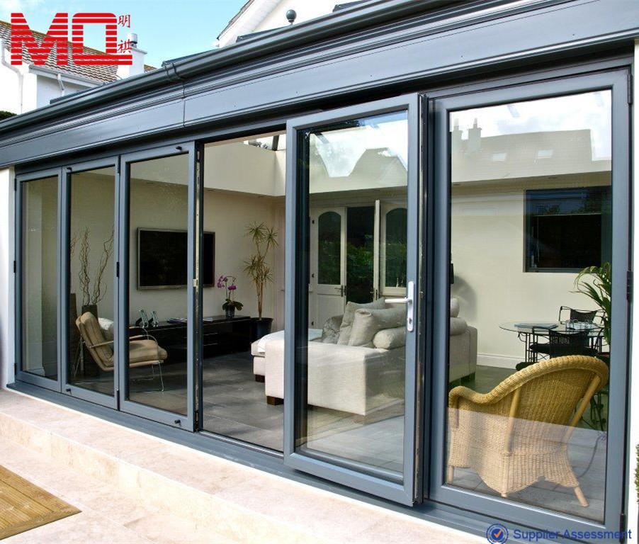Aluminum Exterior Folding Doors 902 x 768