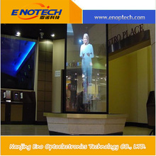 electronic advertising boards dark grey rear/transparent projection film