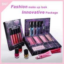 Lip gloss,Waterproof Lip gloss,private label Lip gloss set eye brush set