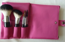 pink bag 6pcs/set make up brush set make up tool