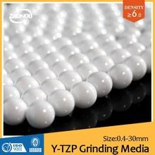 OCD grinding media zirconium ball/yttria stabilized zirconia silicate beads/INKERA INKS