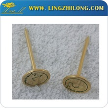 Wholesale factory direct hand tool round gold metal nail