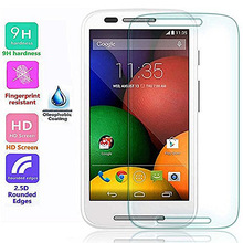 0.33 tempered glass film for Moto E mobile phone screen protector