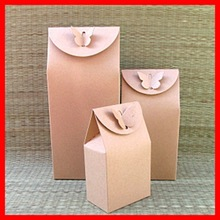 Different Size Custom Kraft paper Special Butterfly Tea Gift Packaging box