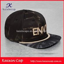 oem wholesale 2015 fashion high quality design your own logo flat brim custom rope snap back hats