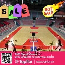 Baseketball sports pvc flooring sports floor covering