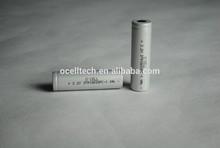 15C 18650 LiFePO4 3.2V 1100mAh