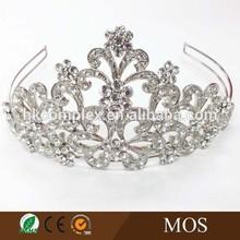 2015 hot selling wedding tiaras and crown bride crown