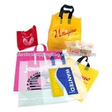 Custom Made Gravure Printing Logo Plastic Shopping Bag