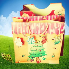 Top level hot sell cosmetics paper gift bag