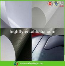 FLY china shanghai supplier self adhesive green auto carbon fiber wrap vinyl film car wrap vinyl film
