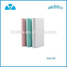 P-030 Dual-USB Smart Mobile 17600mAh Power Bank External Battery for iPhone / Samsung / HTC / LG / Xiaomi / Google / Blackberry