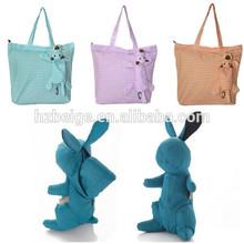 Buy direct from china manufacturerdoll nylon foldable shopping bag , reusable shopping bag