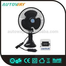 High Quality Black Radiator Fan 12v car